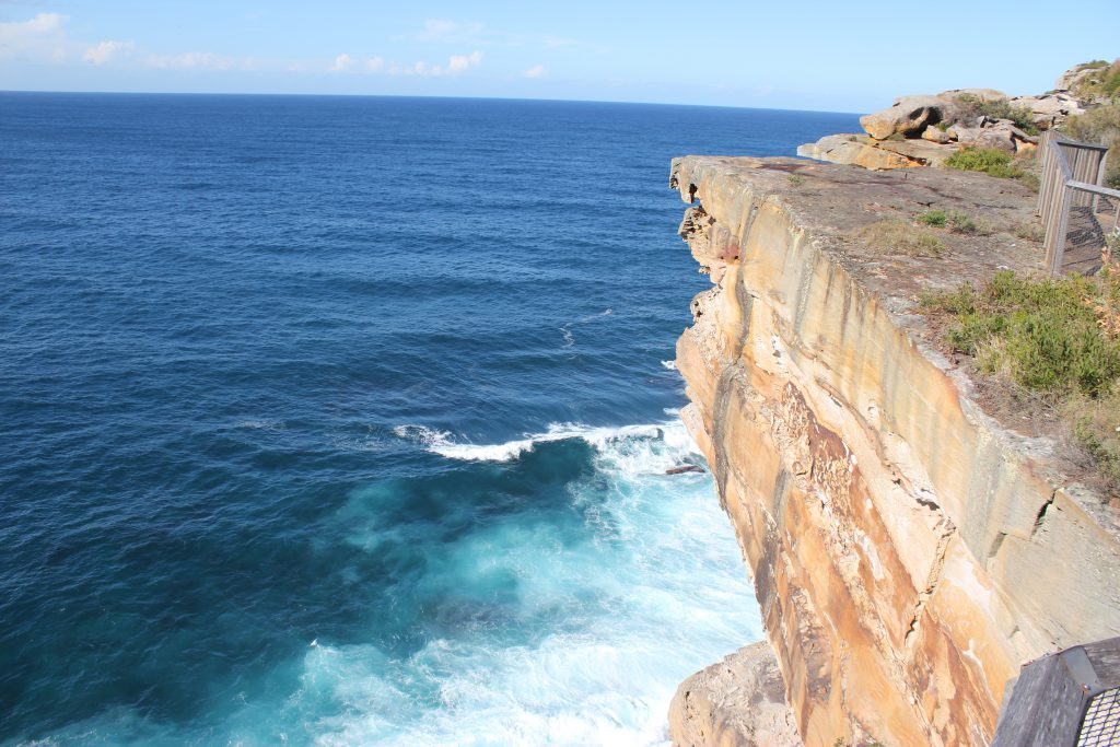 Cliff Outside Of Sydney