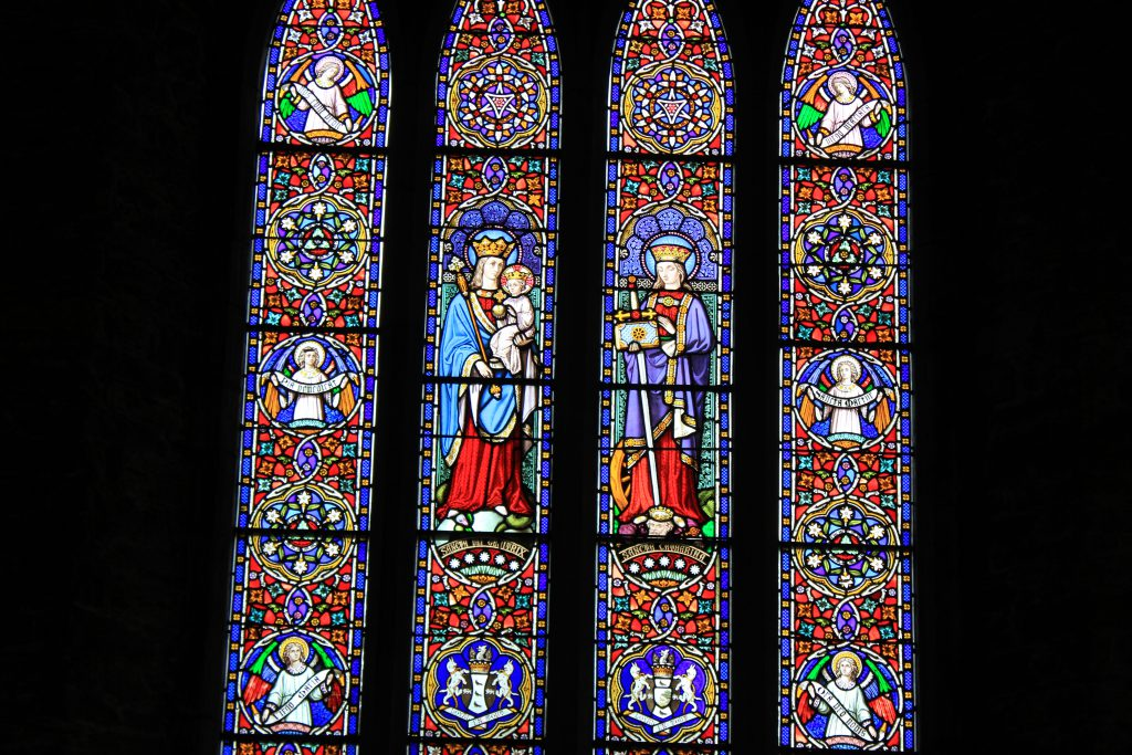 St. Marys Cathdral Windows