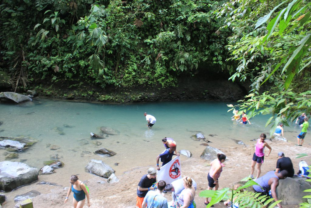 Near La Fortuna Waterfall