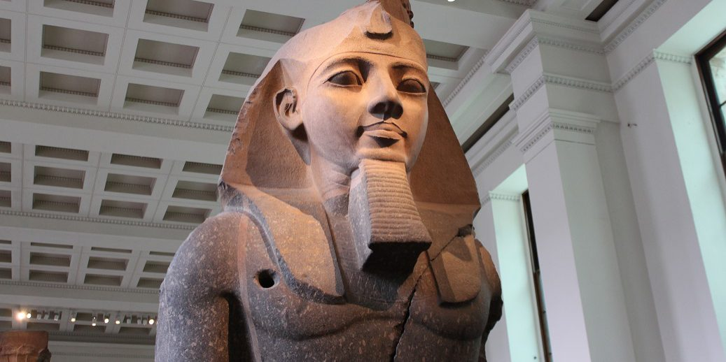 Pharaoh Statue in London